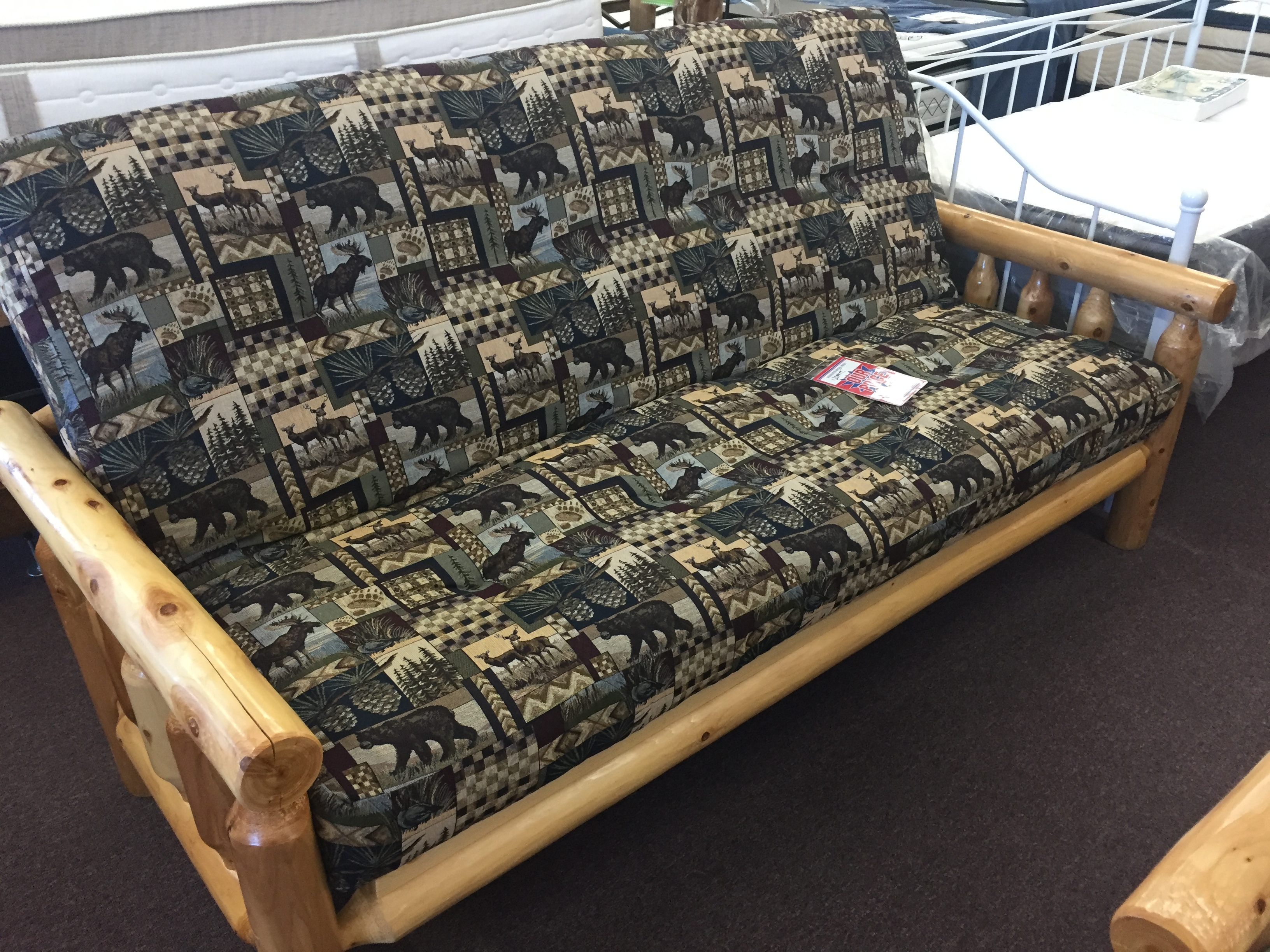Fabulous Furniture Finds And More » Blog Archive » Cedar Log Futon ...