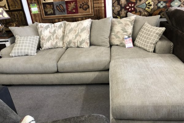 Alliance Pewter Sectional Furniture