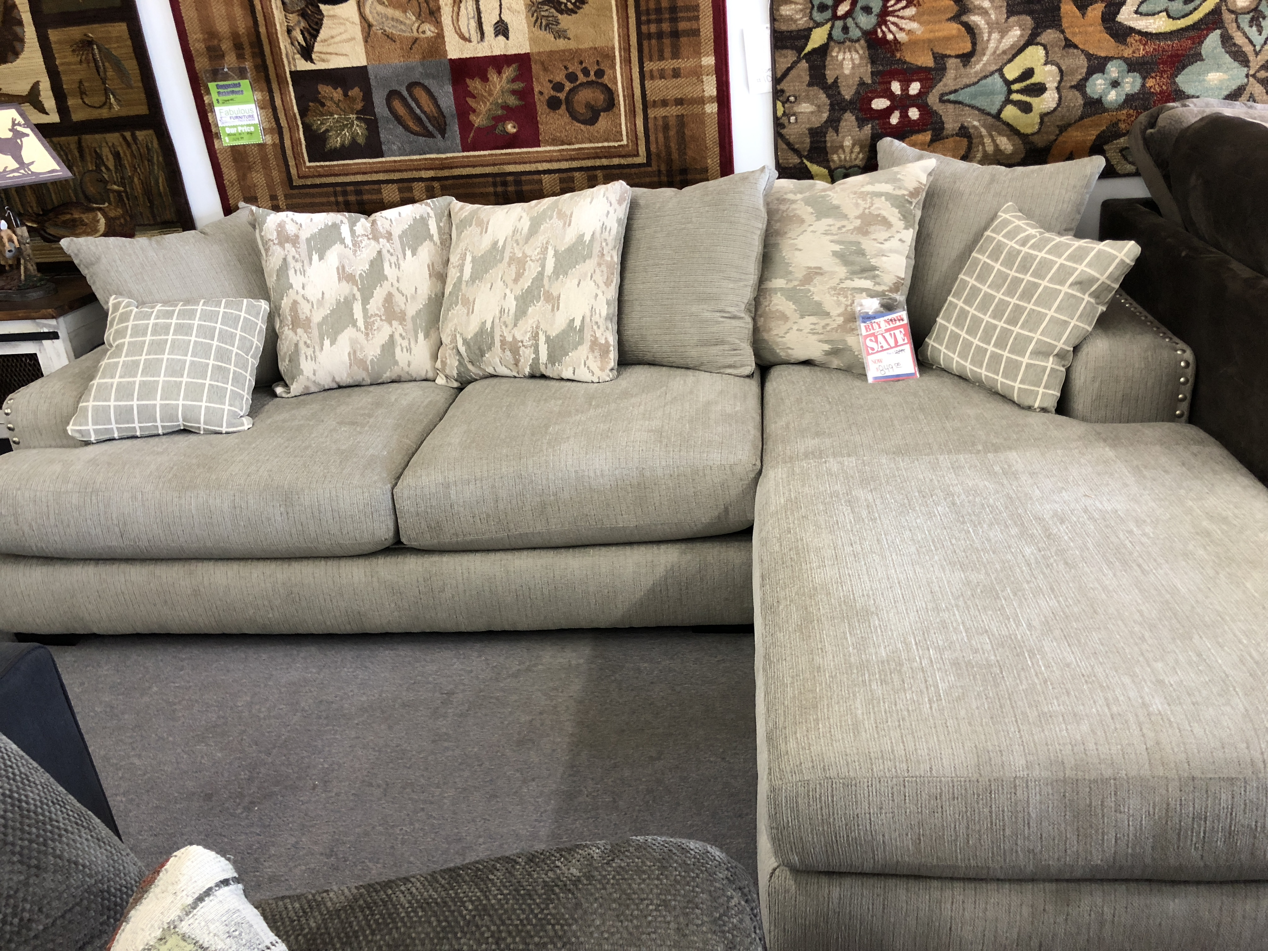 Alliance Pewter Sectional