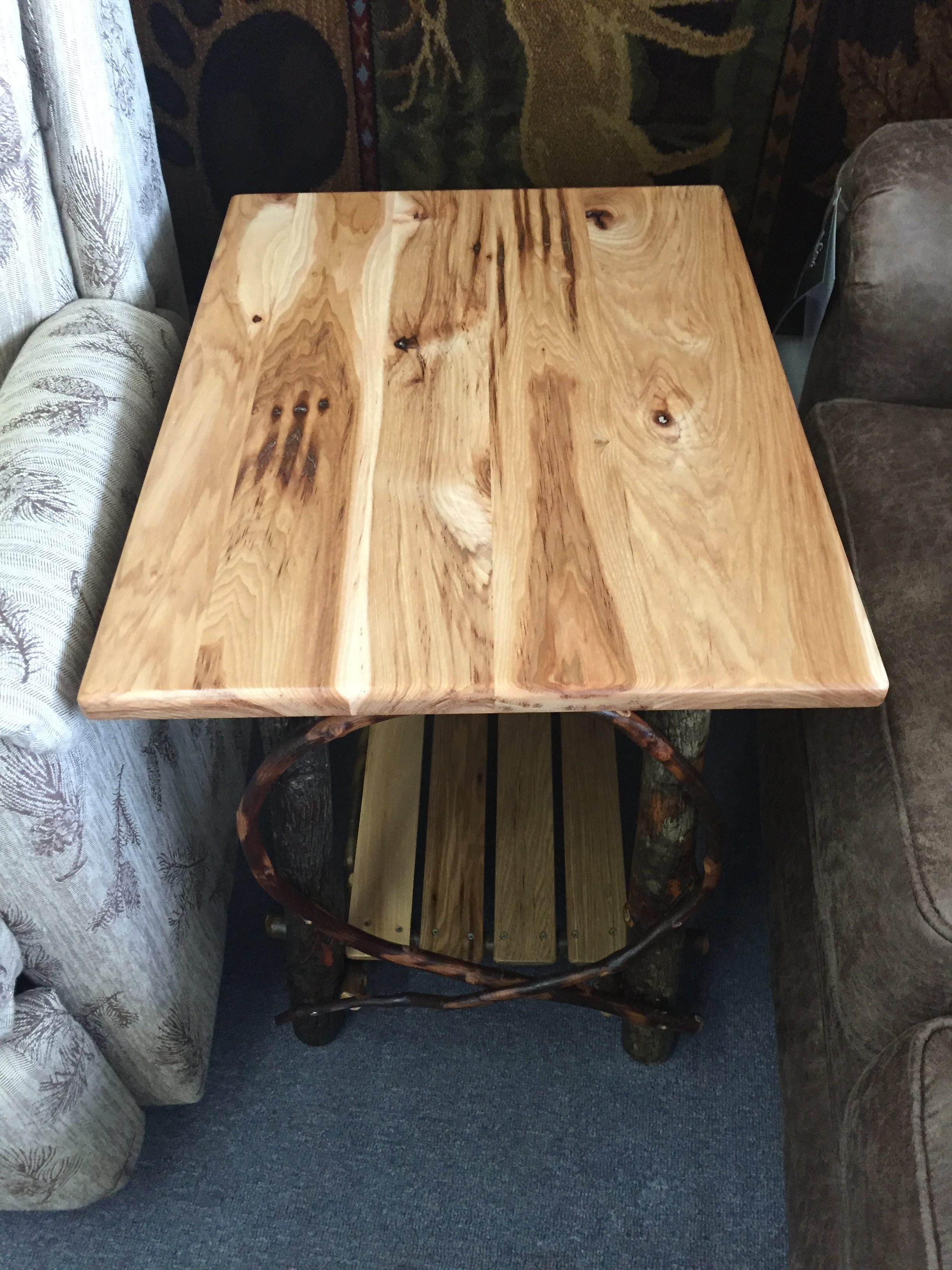 Hickory Side Table