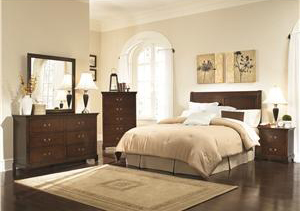 Brown Coaster Headboard